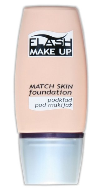 Flash Make up - Match Skin foundation - podkład pod makijaż