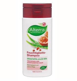 Granat i aloes - szampon nawilżający do włosów suchych i zniszczonych