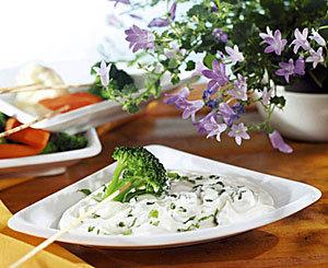 Dip ziołowy do warzyw