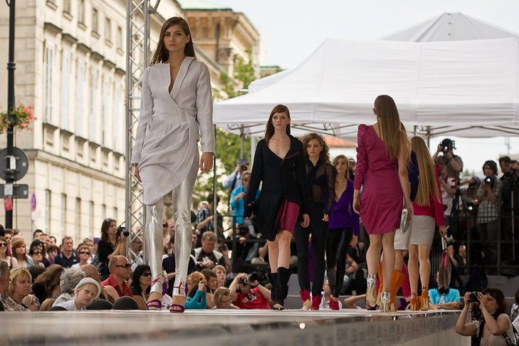Pokaz kolekcji Katarzyny Staniszewskiej, laureatki New Look Design