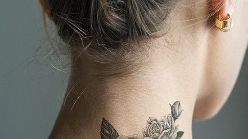 Tatuaż Na Szyi Kafeteriapl