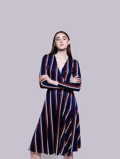 58bd8f6c9b58d2 Sukienka kopertowa to ponadczasowy fason dla każdej kobiety