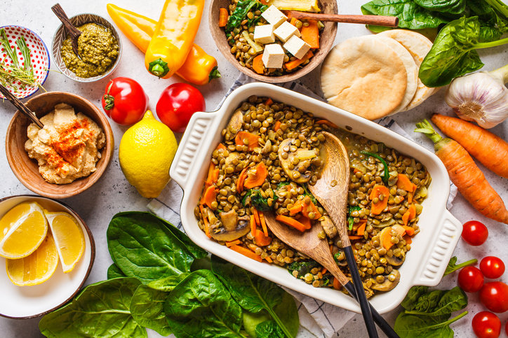 Przepisy wegetariańskie są bardzo smaczne i szybkie w przygotowaniu.
