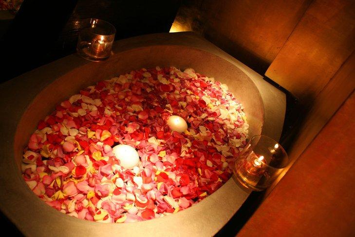 kąpiel różana