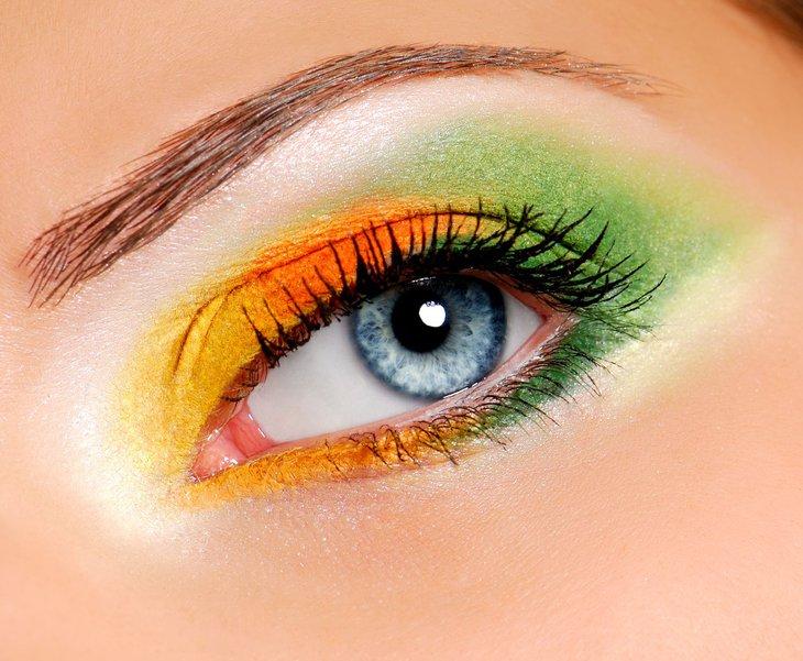 Kolorowe oko 1