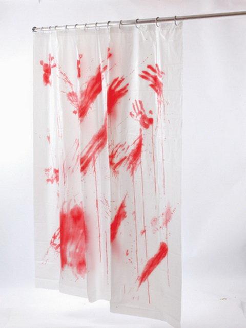 3 Mordercze Zasłonki Prysznicowe Kafeteriapl